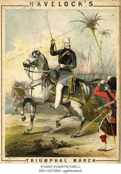 Havelock's Triumphal march to relieve Cawnpore