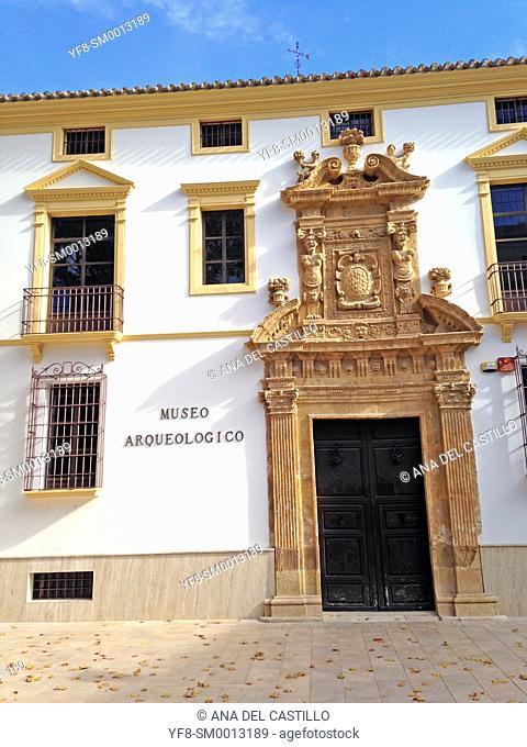Lorca archeological museum, Murcia Province, Spain