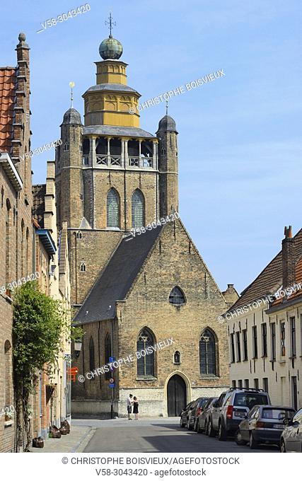 Belgium, Bruges, World Heritage Site, Jerusalem church