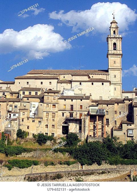 Church and Jewish quarter. Bocairente. Valencia province. Spain