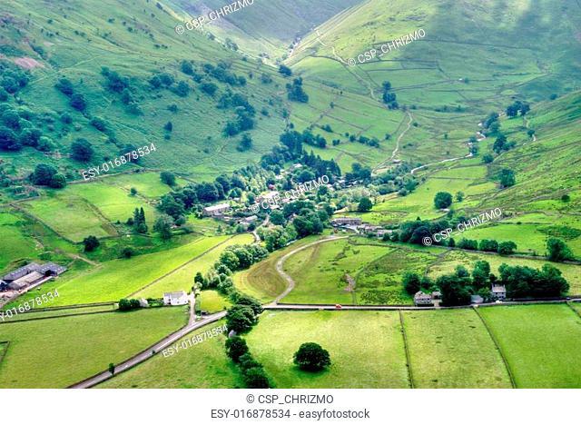 Aerial View of Hartsop Village