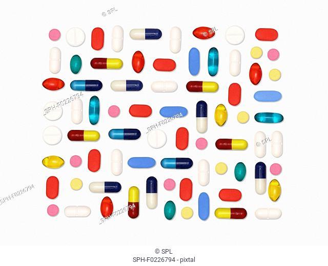 Pills and capsules