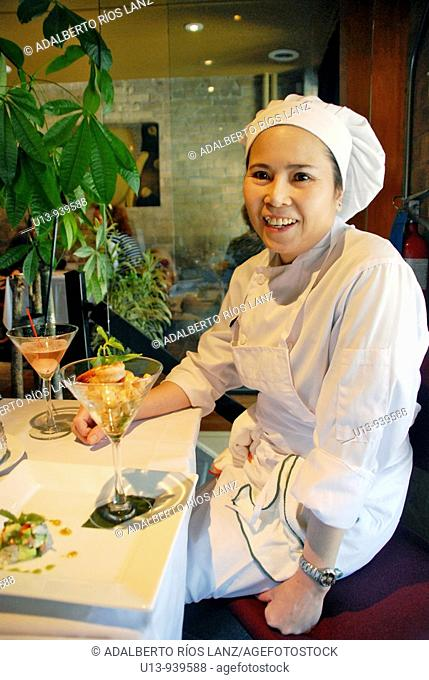 Thai chef, Toronto, Canada
