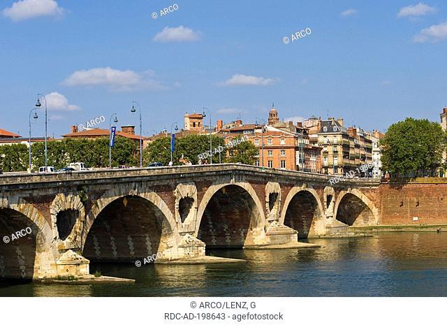 Pont Neuf, Toulouse, Midi-Pyrenees, France