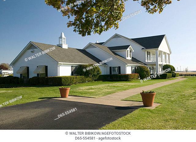 Southfork Ranch. Seen on TV show 'Dallas'. Main House Exterior. Parker (Dallas Area). Texas, USA