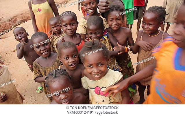children in central african republic