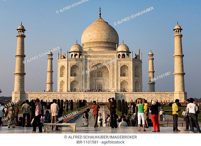 Taj Mahal, Agra, North India, India, Asia