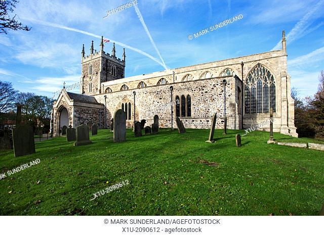 St Nicholas Church Hornsea East Riding of Yorkshire England