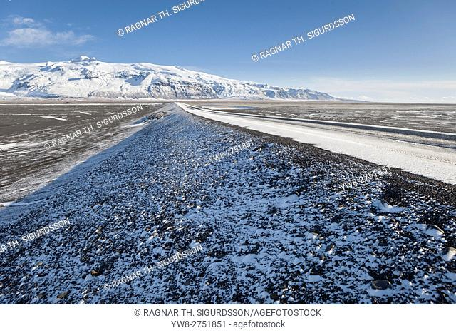 Route One, Skeidararsandur outwash plain, Iceland