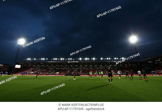 2016 Football League Cup Football Bournemouth v Preston Sep 20th. 20.09.2016. Vitality Stadium, Bournemouth, England. Football League Cup Football