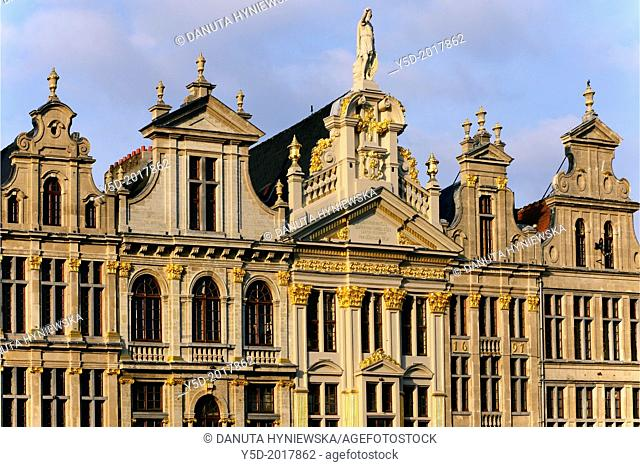 architecture, Grand Place, Brussels, Belgium