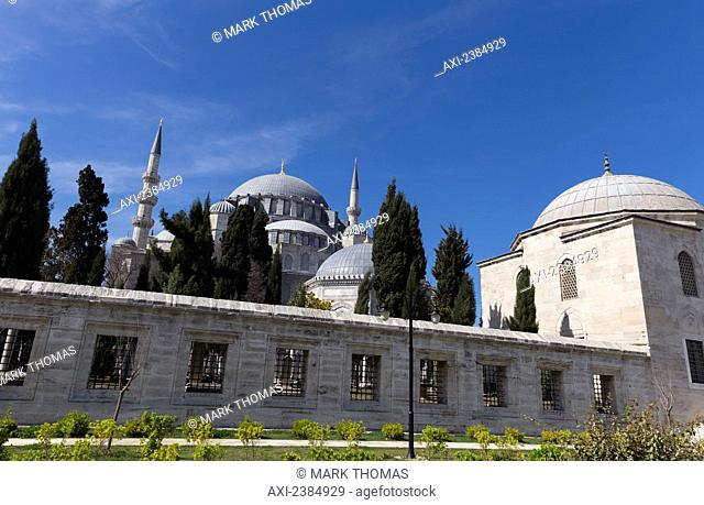 Islamic mosque; Istanbul, Turkey