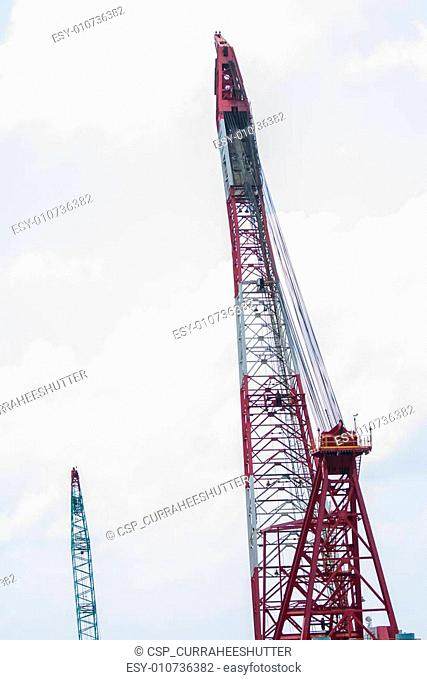 crane barge doing marine heavy lift