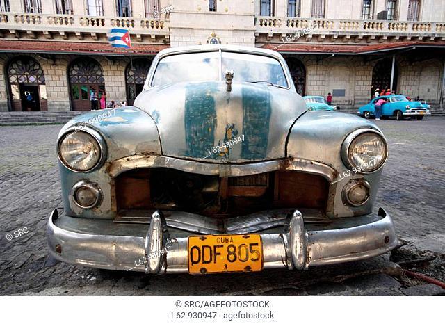 Old car, Cuba