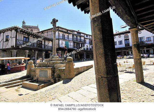 La Alberca, mediaeval village, Castile and León, Salamanca province, Spain
