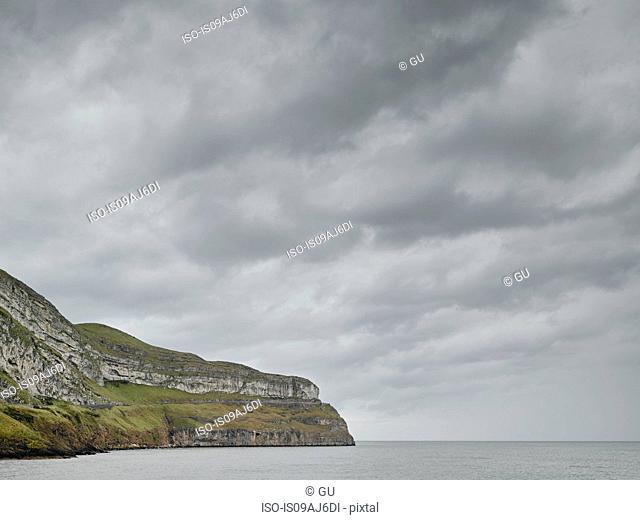 Grey sea and sky, Llandudno, Conwy County Borough, Wales