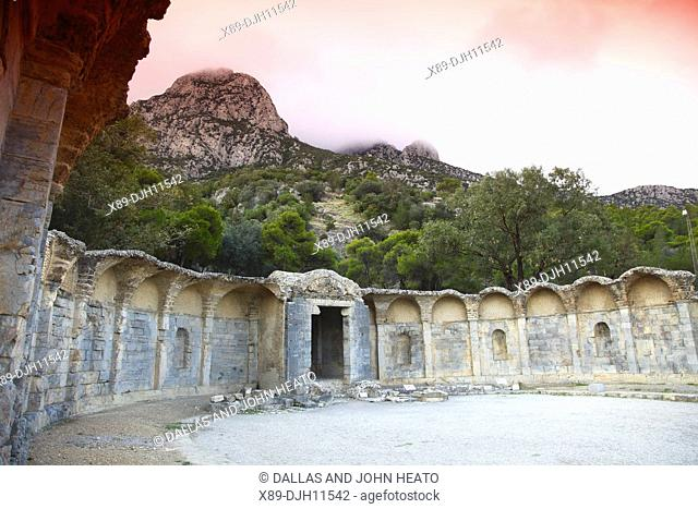 Africa, Tunisia, Zaghouan, Roman Water Temple, Start of Aqueduct to Carthage