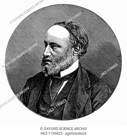James Prescott Joule, English physicist, 1876. Joule (1818-1889) was born at Salford near Manchester and studied chemistry under John Dalton