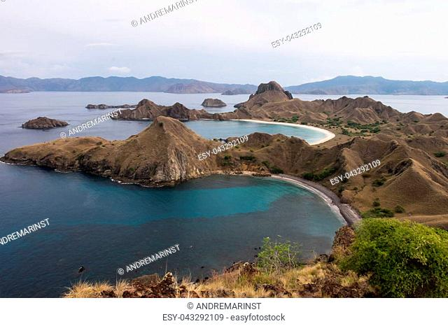 Beautiful Padar Island in Labuan Bajo, Flores Indonesia