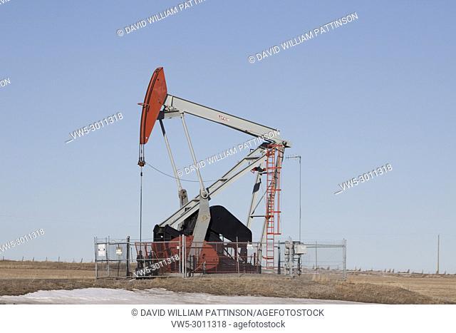 Pumpjack southern Alberta Canada