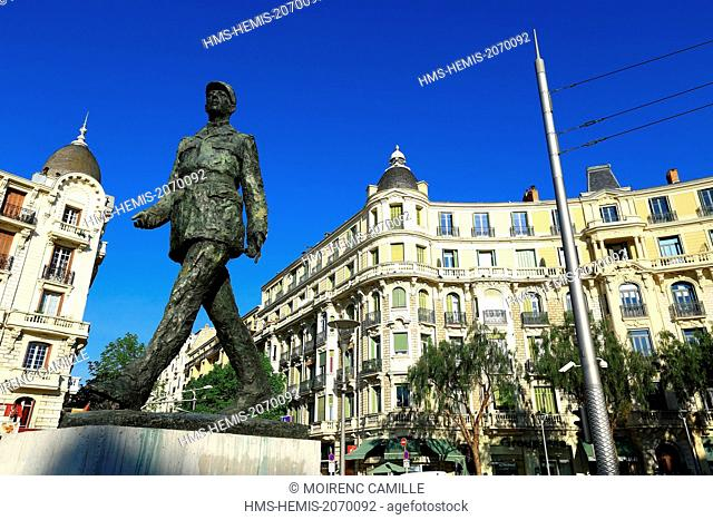 France, Alpes Maritimes, Nice, Liberation district, Place General de Gaulle