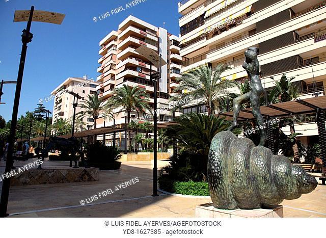 Salvador Dali Sculptures Marbella, Andalusia, Spain, Europe