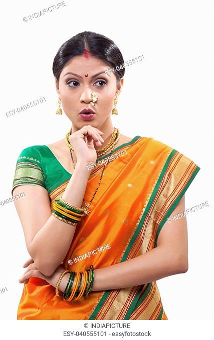 Maharashtrian woman surprised