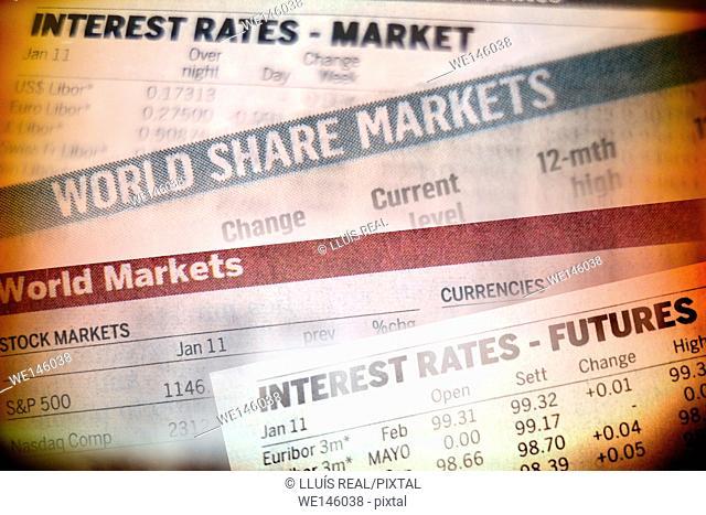 tipo de interes, mercado, interest, rates, market