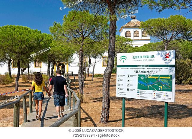 Visitors Center El Acebuche, Doñana Natural Park, Almonte, Huelva-province, Region of Andalusia, Spain, Europe