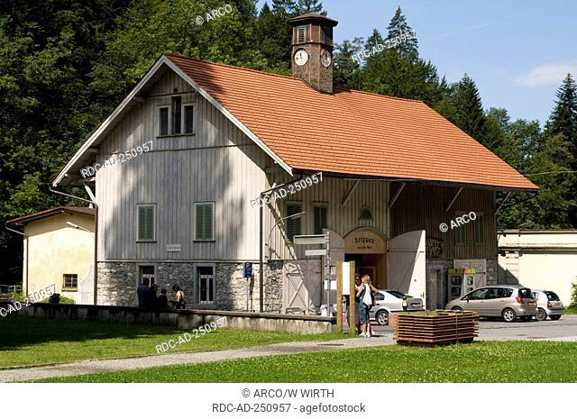 Crib museum Gutle Dornbirn Voralberg Austria Gütle creche manger