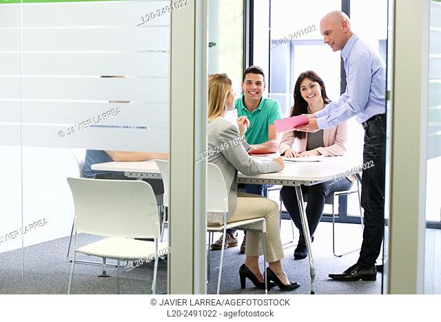Executive meeting room. Office