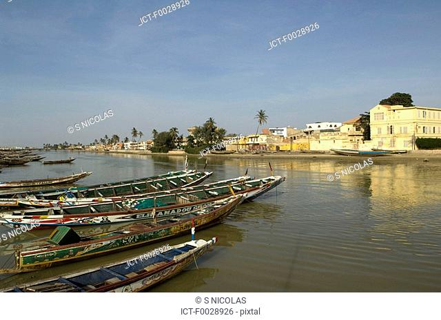 Senegal, Saint-Louis, port