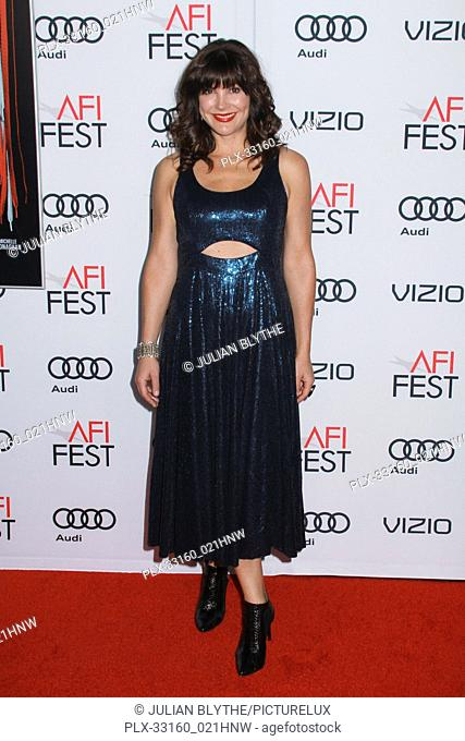 "Moniqua Plante 11/17/2016 AFI Fest 2016 """"Patriots Day"""" Gala Presentation at the TCL Chinese Theatre in Hollywood, CA Photo by Julian Blythe / HNW / PictureLux"