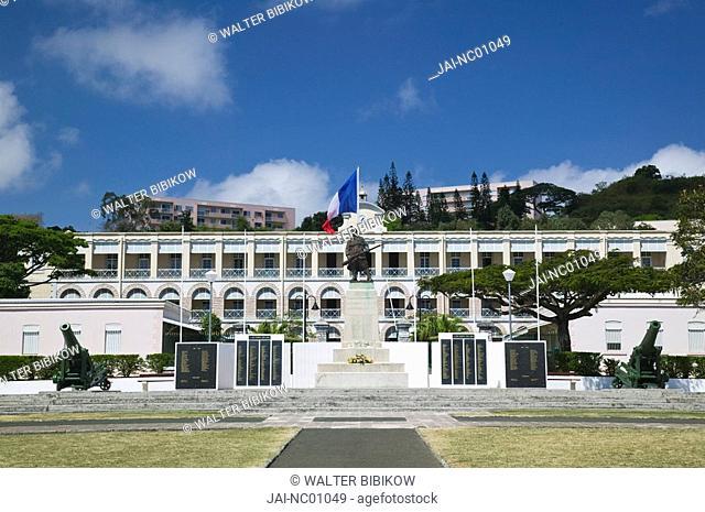 New Caledonia, Grande Terre Island, Noumea, Place Bir Hakeim, French Army HQ