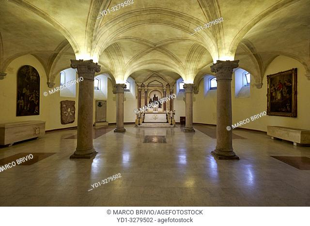 Vicenza, Veneto, Italy. Vicenza Cathedral (Italian: Cattedrale di Santa Maria Annunziata, Duomo di Vicenza) is a Roman Catholic cathedral in Vicenza, Veneto