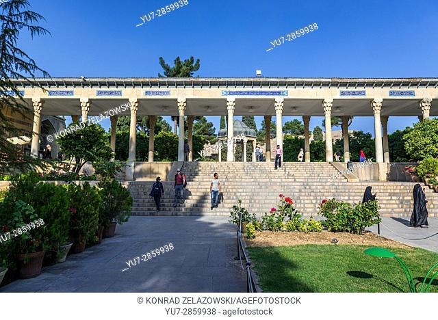 One of structures in Tomb of Hafez memorial hall called Hafezieh in Shiraz city, capital of Fars Province in Iran