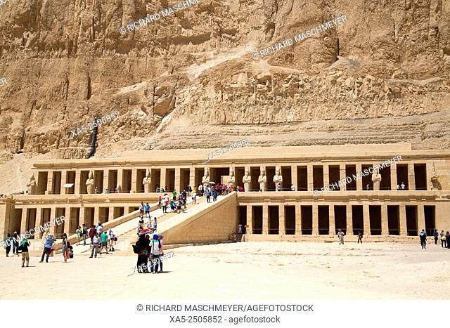 Deir-el-Bahri (Hatshepsut's Temple), West Bank, Luxor, Egypt
