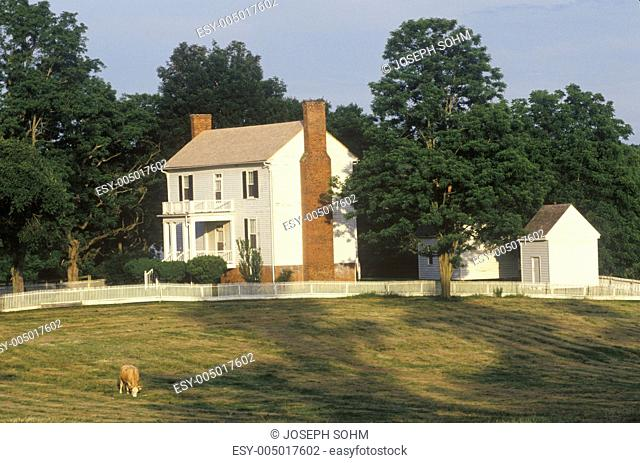 Isbell House, Virginia National Historic Park, site of end of the Civil War