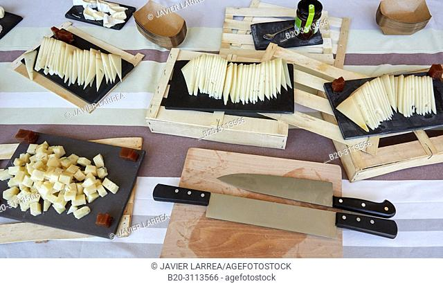 Cheese, Catering in congress, Donostia, San Sebastian, Gipuzkoa, Basque Country, Spain, Europe