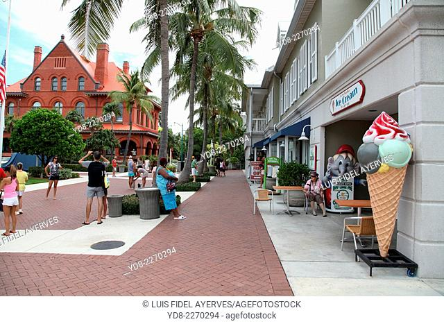 Key West, Florida, Key West is a city in Monroe County, Florida, United States. The city encompasses the island of Key West