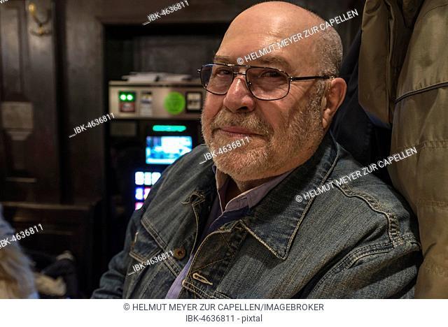 Older gentleman with glasses, Germany