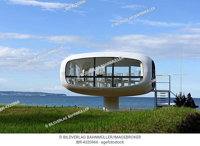 Rescue tower in Binz, now marriage registration office, Binz seaside resort, Rügen, Mecklenburg-Western Pomerania, Germany