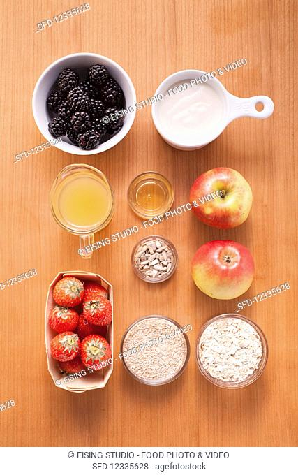 Ingredients for fruit juices