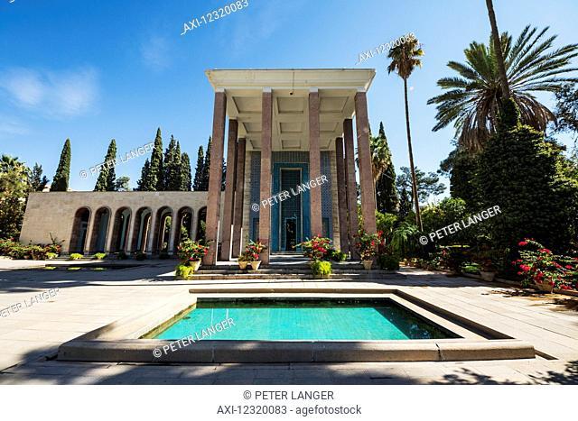Poet Saadi's mausoleum; Shiraz, Fars Province, Iran