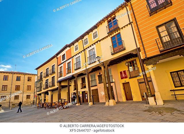 Typical Architecture, El Burgo de Osma, Soria, Castilla y León, Spain, Europe