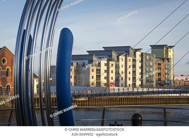 SA1 development Swansea Marina Swansea West Glamorgan Wales