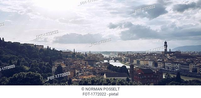Cityscape view of Florence, Tuscany, Italy