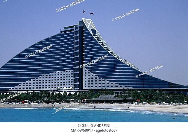 united arab emirates, dubai, jumeira beach hotel