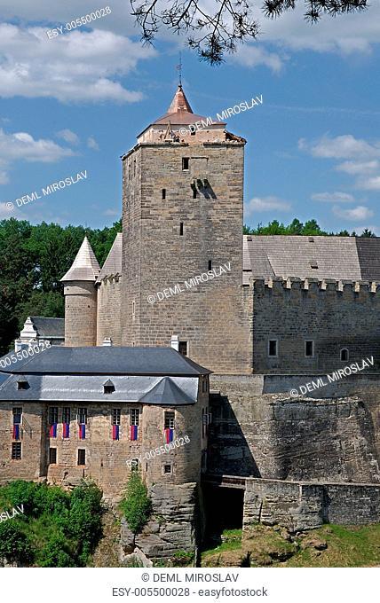 Czech republic, Kost,castle