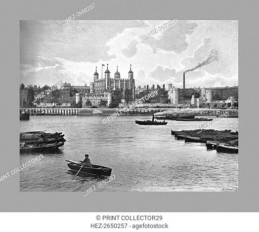 The Tower of London, c1900. Artist: York & Son